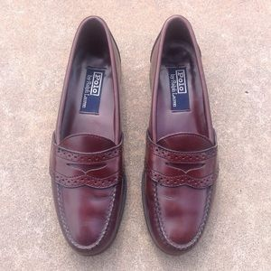 Men's Size 10 Polo Ralph Lauren Penny Loafers